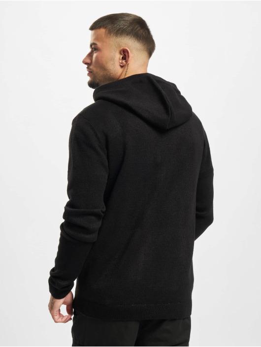 Redefined Rebel Zip Hoodie Soren Knit čern