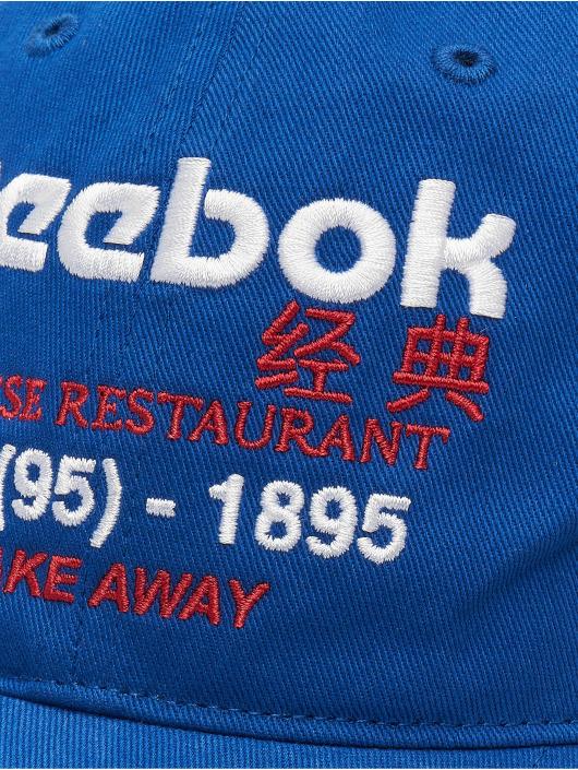 Reebok Кепка с застёжкой Graphic Food синий