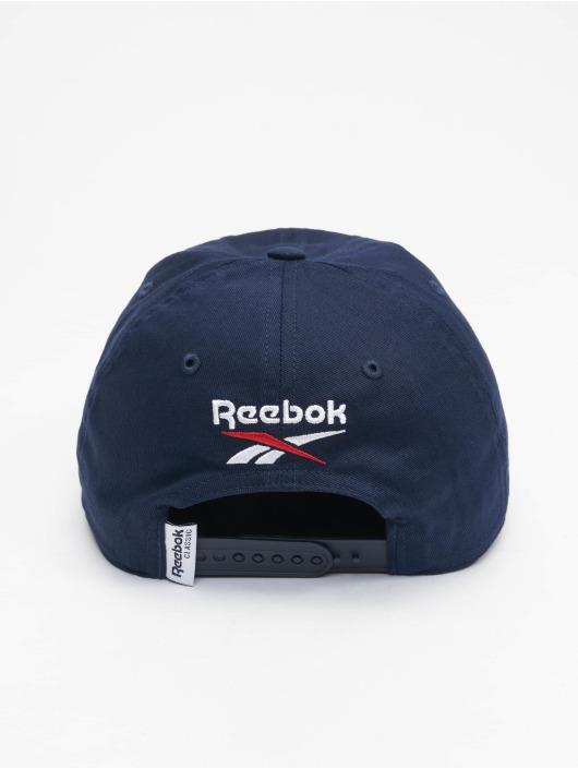 Reebok Кепка с застёжкой Classics Travel синий