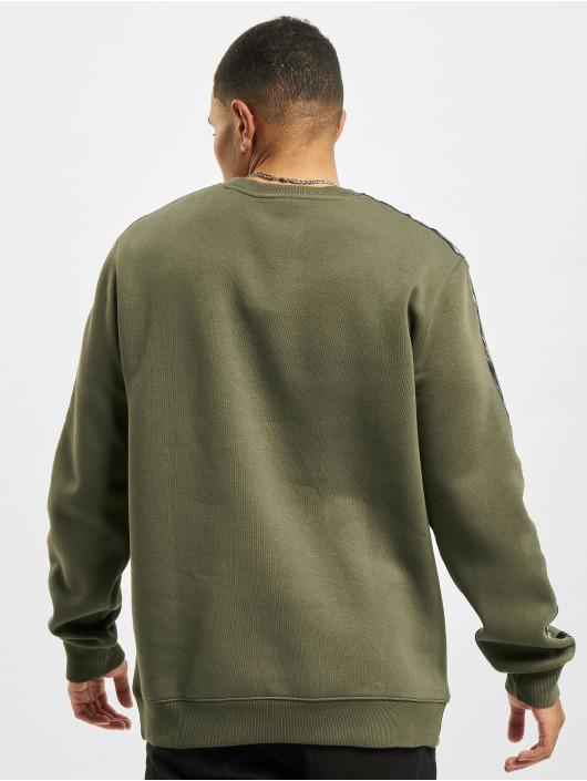 Reebok Пуловер TE Tape Crew зеленый