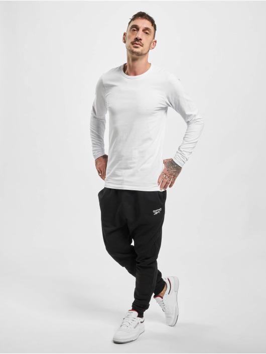 Reebok Спортивные брюки Identity French Terry черный