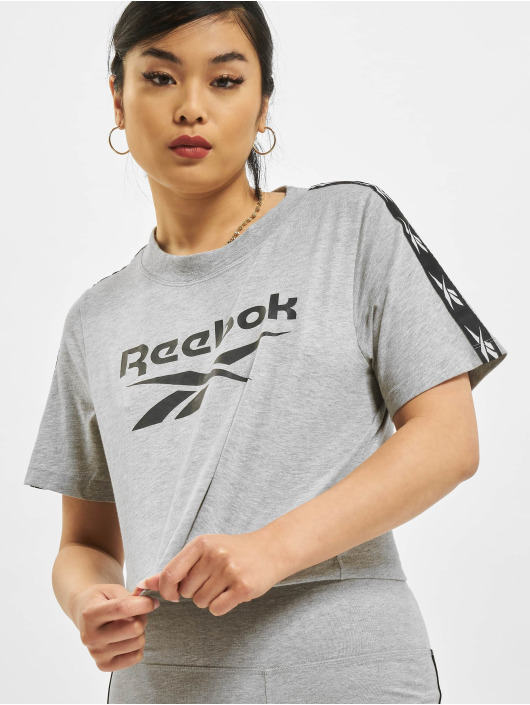 Reebok Футболка TE Tape Pack серый