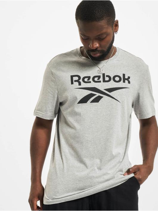 Reebok Футболка RI Big Logo серый