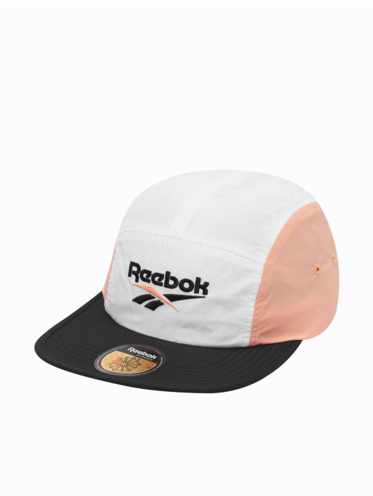 Reebok 5 Panel Caps Retro Running bialy