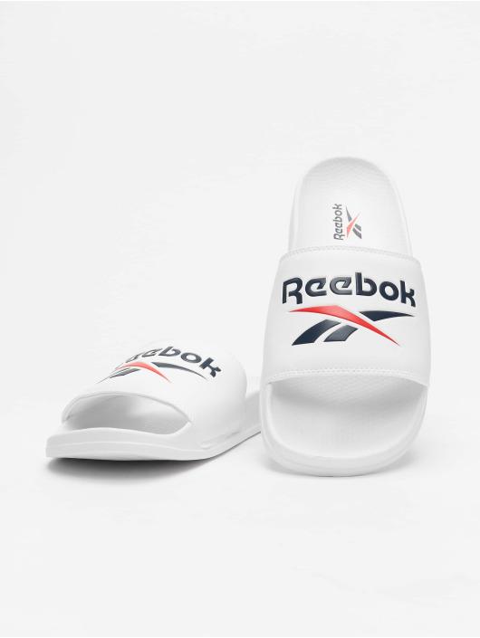 Reebok Badesko/sandaler Classic Slides hvit