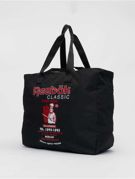Reebok Bag Graphic Food black