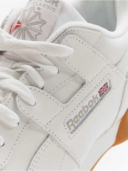 bfa32b333e858 Reebok Baskets Workout Plus blanc