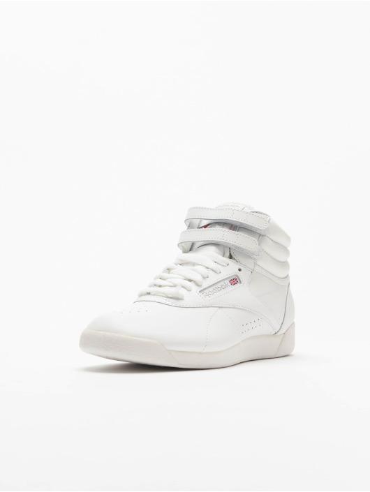 Reebok Baskets Freestyle Hi Basketball Shoes blanc