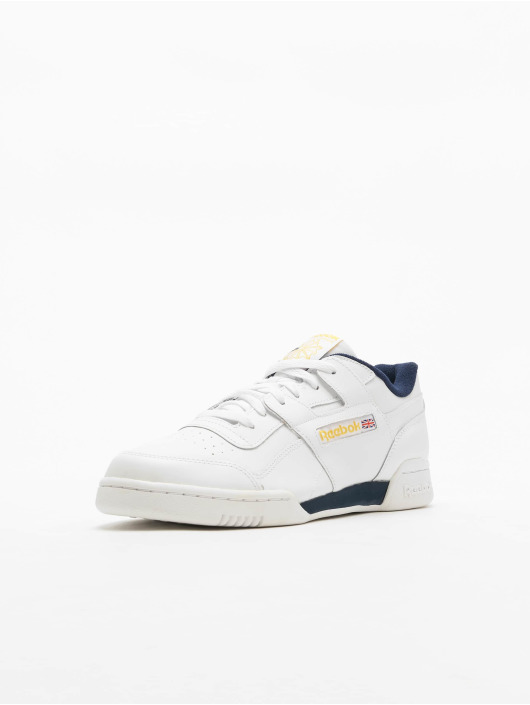Reebok Baskets Workout Plus MU blanc