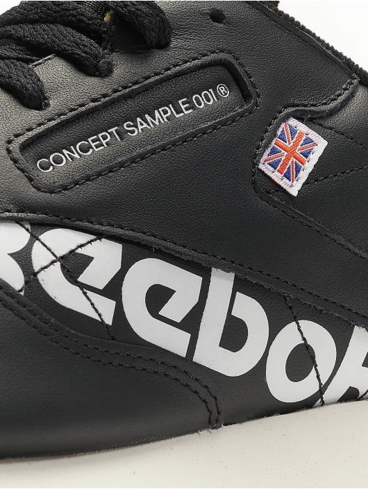 Reebok Baskets Classic Leather MU noir