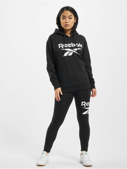 Reebok Bluzy z kapturem Identity Big Logo French Terry czarny