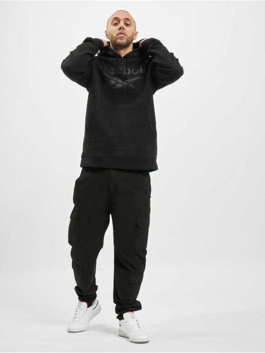 Reebok Bluzy z kapturem Identity Fleece OTH Big Logo czarny