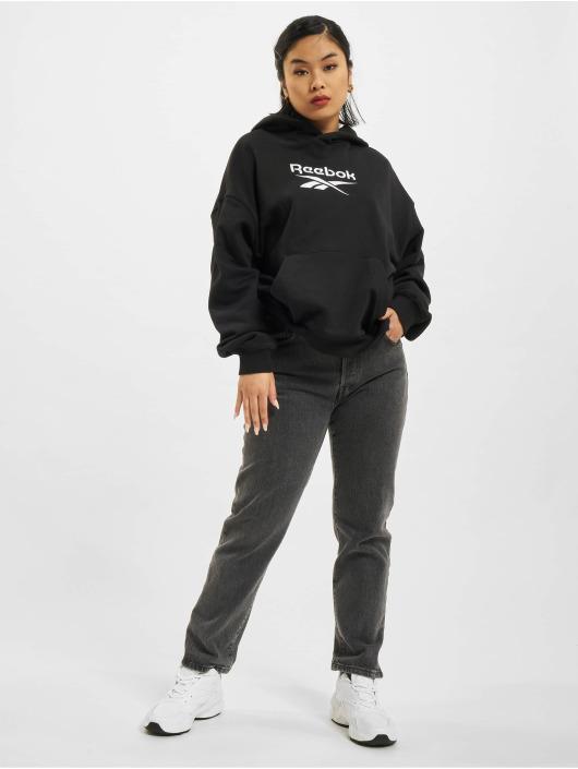 Reebok Bluzy z kapturem CL F Big Logo FT czarny