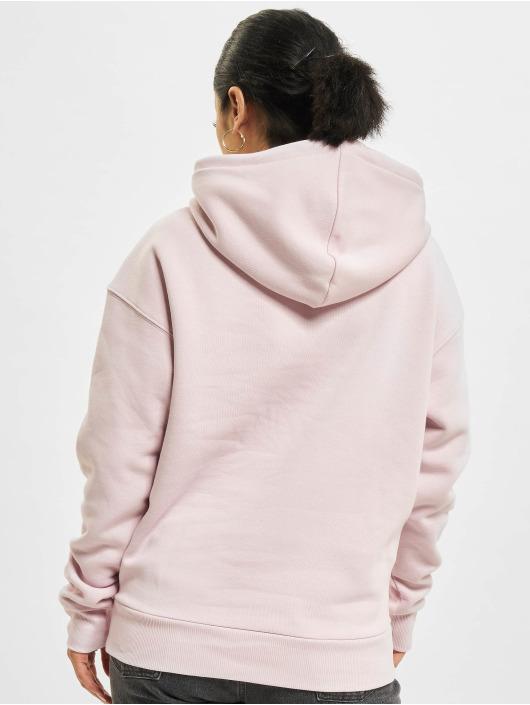 Reebok Bluzy z kapturem Ri Fleece rózowy