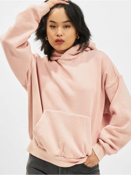 Reebok Bluzy z kapturem CL RBK ND Fleece rózowy