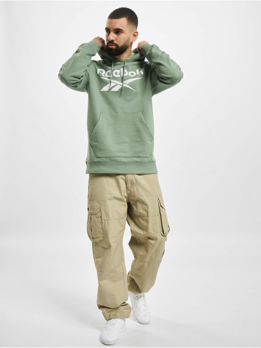 Reebok Bluzy z kapturem Identity French Terry OTH Big Logo zielony