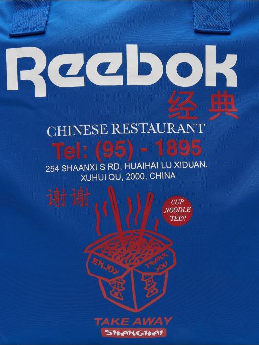 Reebok Borsa Classics Graphic Food blu