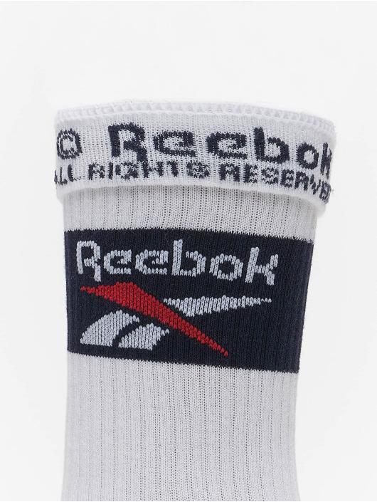 Reebok Calcetines Classics Team blanco