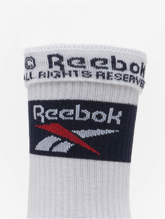 Reebok Calzino Classics Team bianco