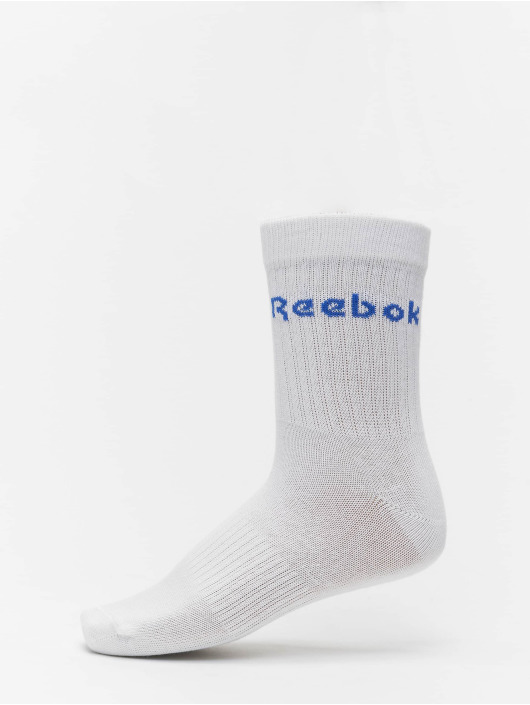 Reebok Chaussettes Act Core Mid Crew 3-Pack blanc