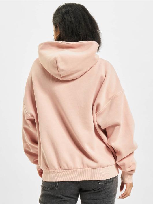 Reebok Felpa con cappuccio CL RBK ND Fleece rosa chiaro