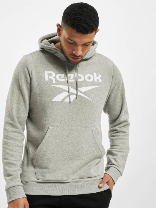 Reebok Hoodie Identity French Terry OTH Big Logo grey