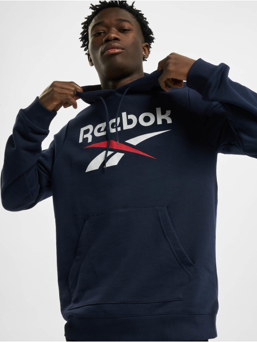 Reebok Hoody Identity French Terry OTH Big Logo blau