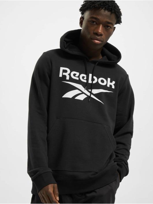 Reebok Hoody Identity French Terry OTH Big Logo schwarz