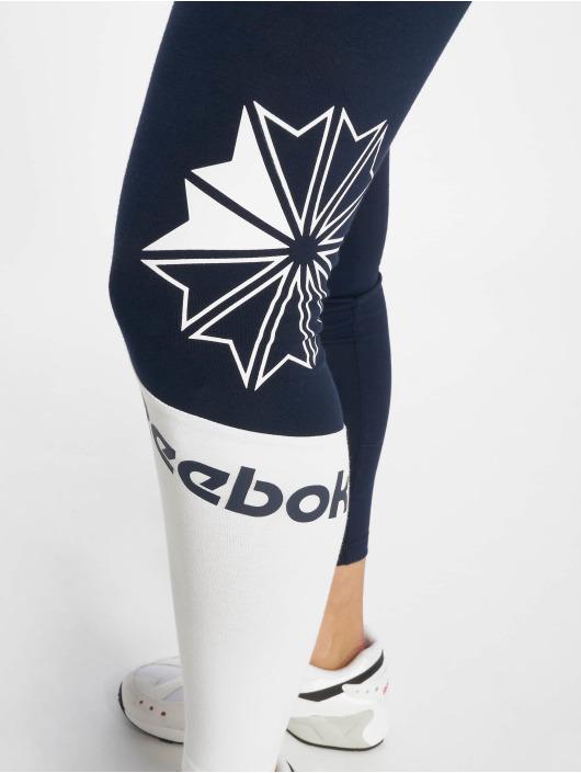 Reebok Legging AC Logo blau