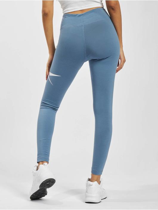 Reebok Legging TE Vector blau