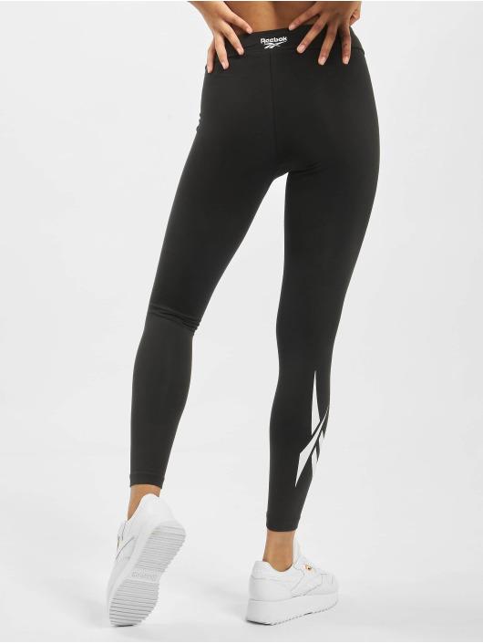 Reebok Legging CL V Logo Vector schwarz