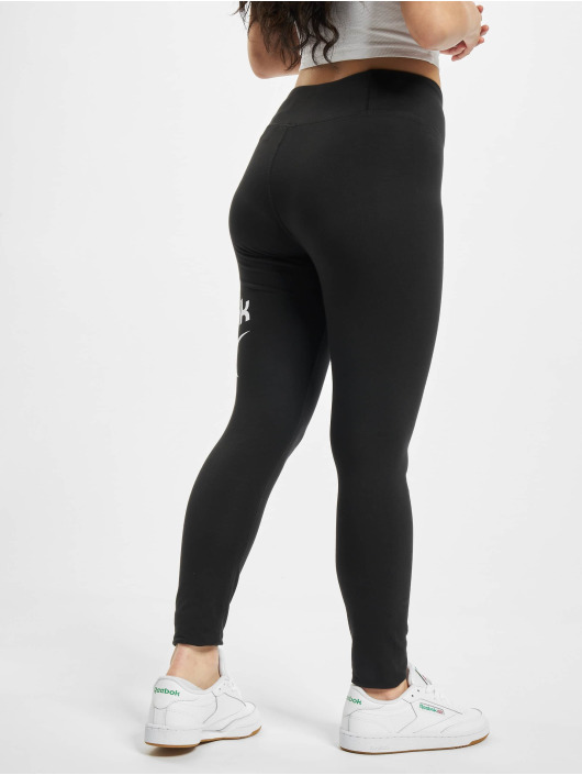 Reebok Leggings Identity Big Logo Cotton svart