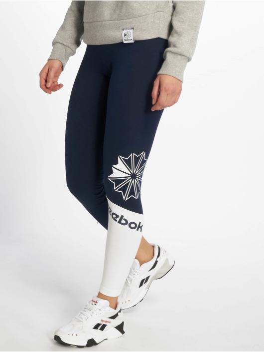 Reebok Leggings/Treggings AC Logo blå