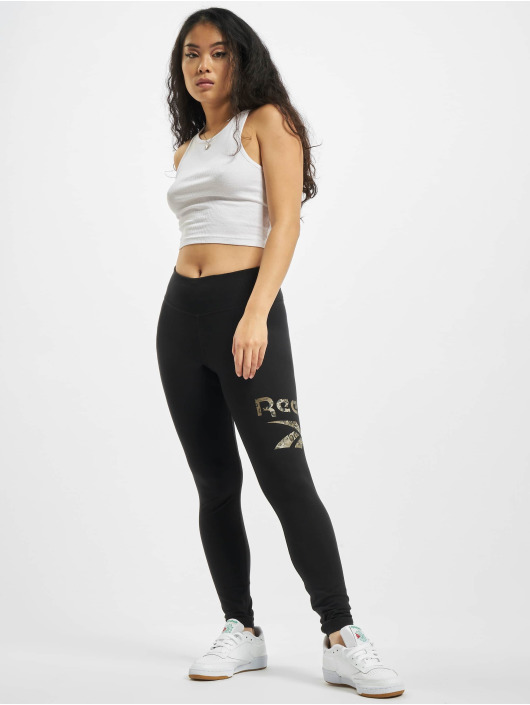 Reebok Leggings/Treggings Te Modern Safari czarny