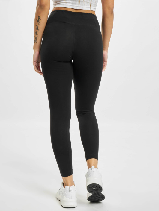 Reebok Leggings/Treggings Reebok Identity Cotton czarny