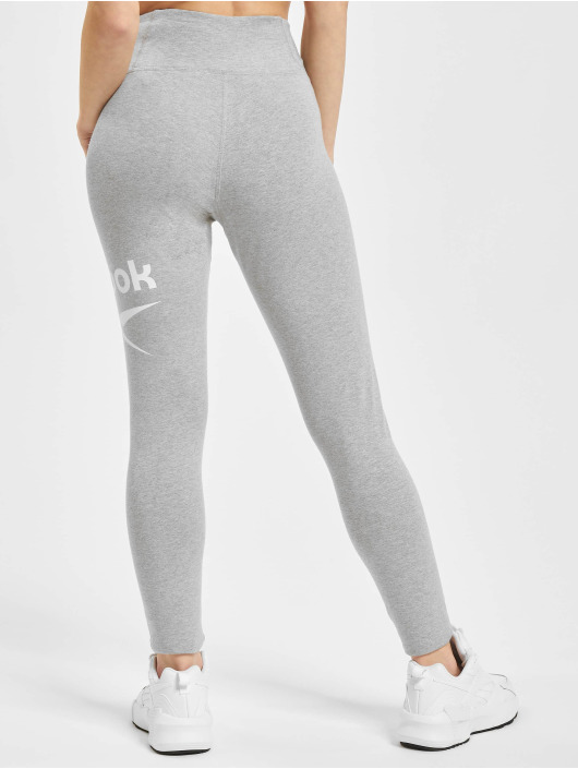 Reebok Leggings/Treggings Ri Bl Cotton grå