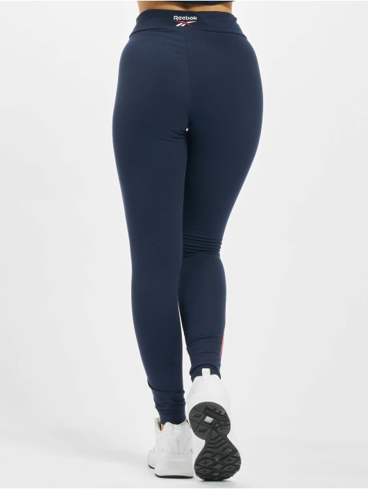 Reebok Leggings/Treggings Classic F Vector niebieski