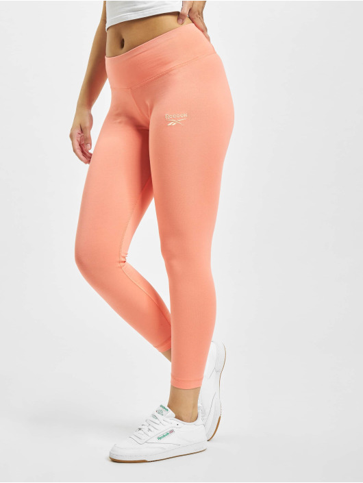 Reebok Leggings/Treggings Identity Cotton rosa