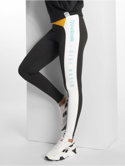 Reebok Leggings/Treggings Gigi Hadid svart