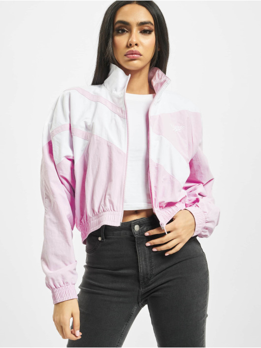 Reebok Lightweight Jacket Classic V Cropped pink