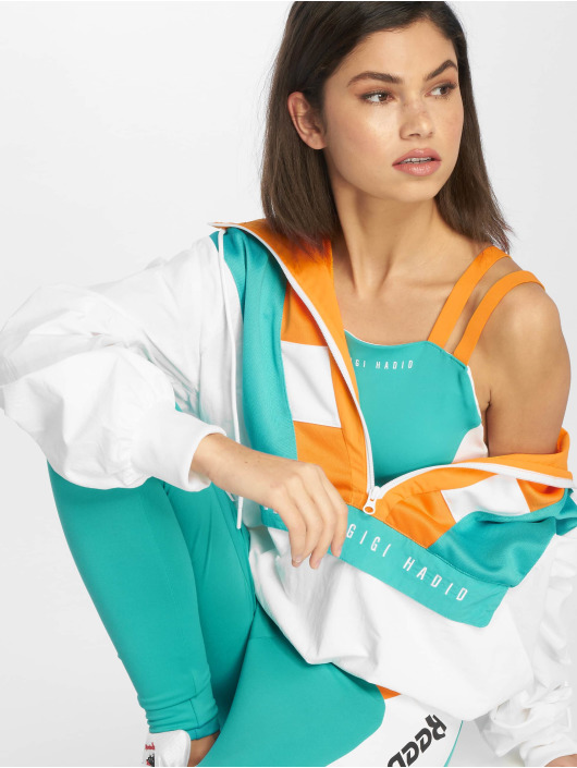 Reebok Lightweight Jacket Gigi Cover Up white