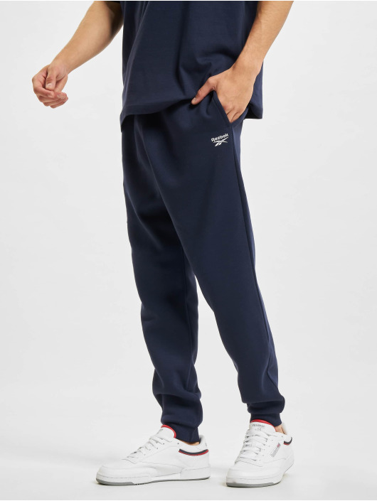Reebok Pantalón deportivo RI Fleece Jogger azul