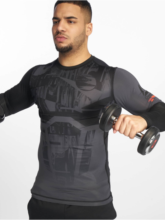 Reebok Performance Kompresjon shirt Ost Comp svart