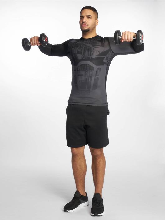 Reebok Performance Kompressionsshirt Ost Comp czarny