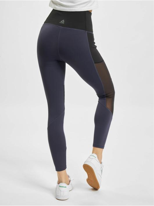 Reebok Performance Legging S Mesh blau