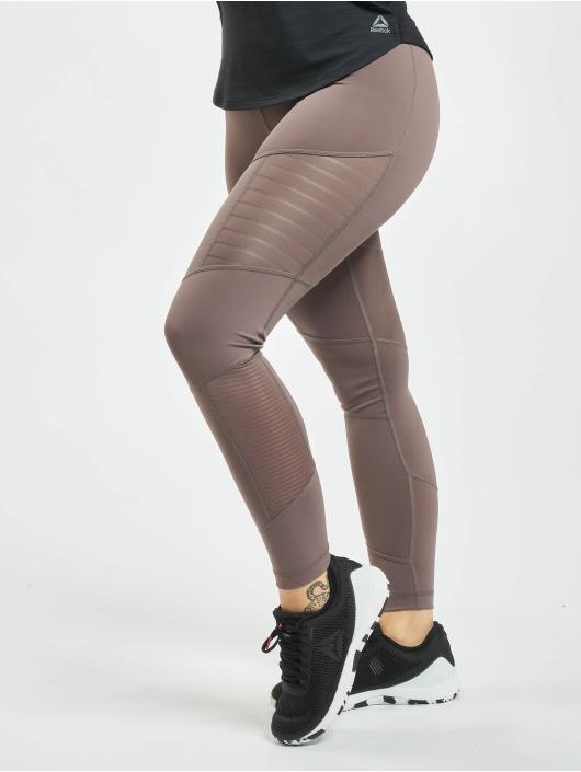 Reebok Performance Legging D Mesh grijs