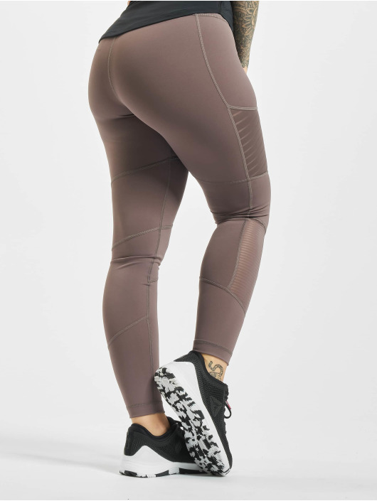 Reebok Performance Legging D Mesh gris