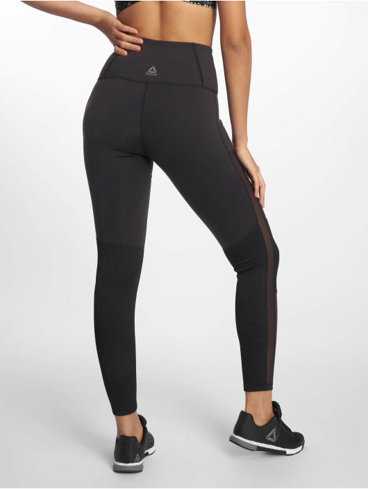 Reebok Performance Damen Legging C Lux High Rise in schwarz