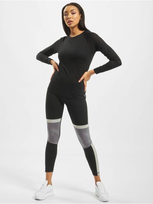 Reebok Performance Leggings/Treggings Workout MYT Paneled Poly czarny