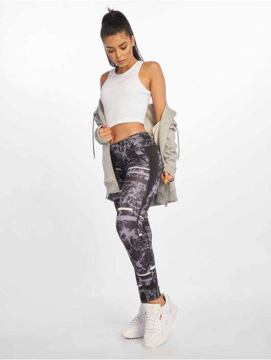 Reebok Performance Leggings/Treggings Wor Motion Dot svart